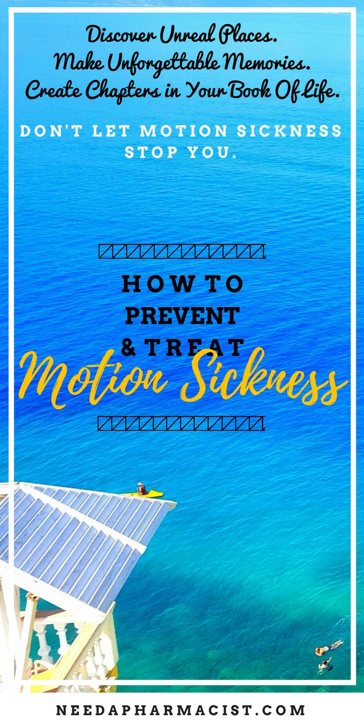 What exactly is motion sickness and how can you prevent it? If prevention doesn't work, how can you treat travel sickness fast and effectively?