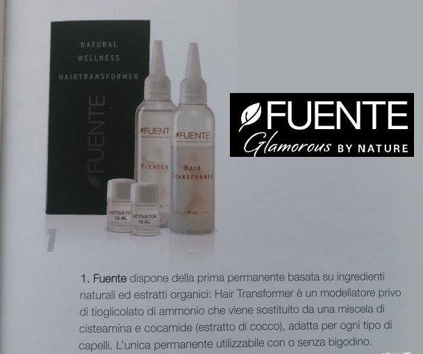 Hair Transformer di Fuente: l'unica permanente organica senza tioglicolato, che modella i capelli in ogni forma desiderata grazie ai suoi estratti organici di cocco!