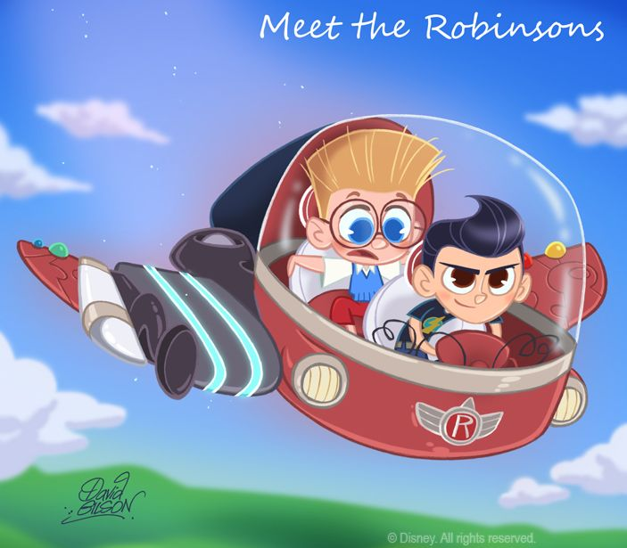 50 Chibis Disney : Robinson by princekido.deviantart.com on @deviantART