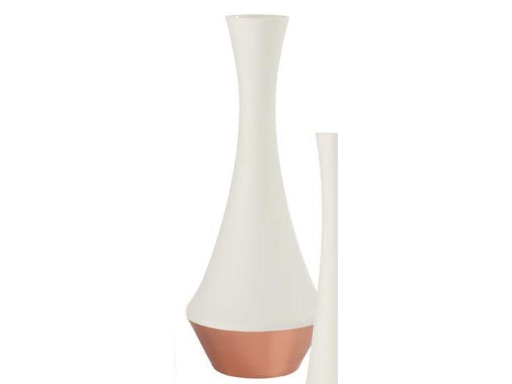 S&P Rose Gold & white Vase