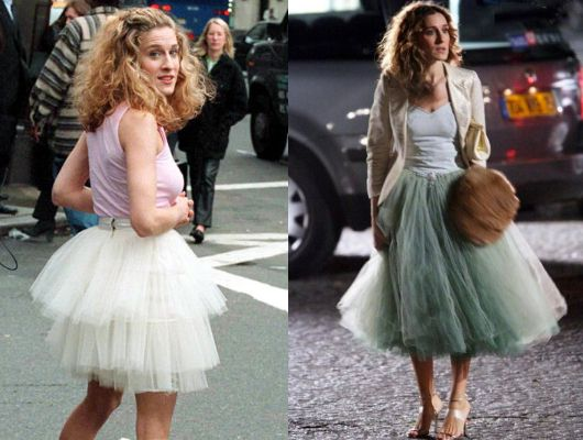 I love the tulle skirts