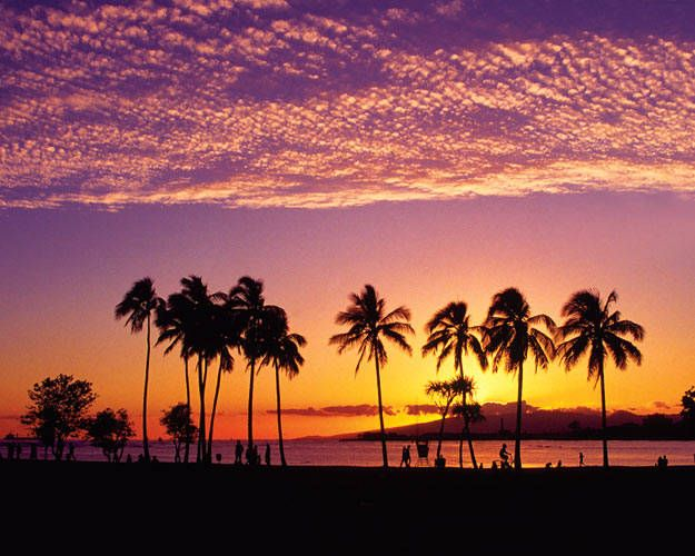 Image result for Sunset at Moana Beach Park