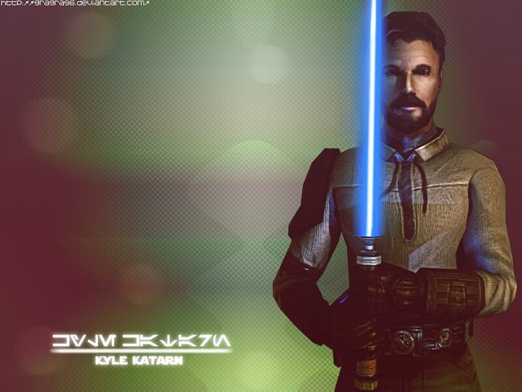 Kyle Katarn my all-time favorite Legends Character