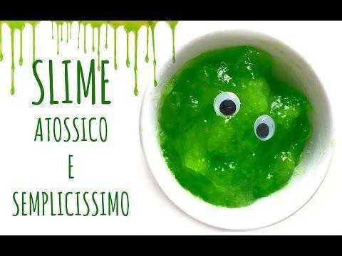 SLIME , senza borace, colla, shampoo o detersivo, COMPLETAMENTE NATURALE ED EDIBILE!(Arte per Te) - YouTube