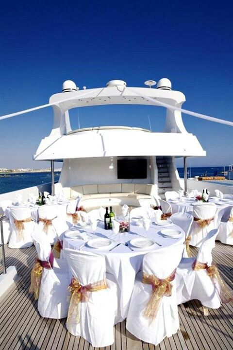 32 Best Yacht Wedding Images On Pinterest Luxury Yachts