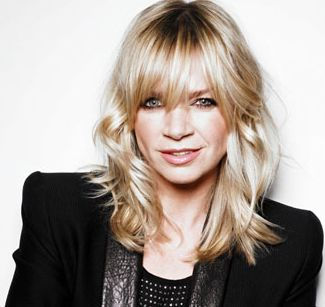 I love Zoe Ball's effortless hairstyle, it's not too long and not too short either.