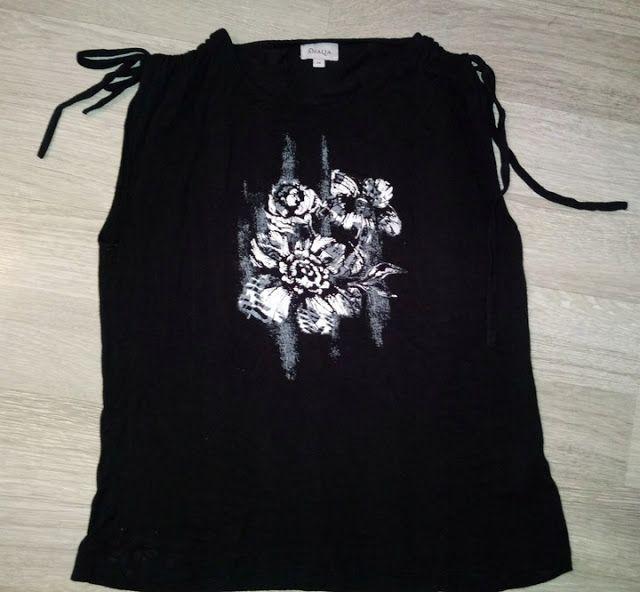 Odziez Uzywana W Wschowa Tel 574671215 Bluzka Damska Czarna Z Nadrukiem R M Wschowa Tan Mens Tshirts Fashion Tops