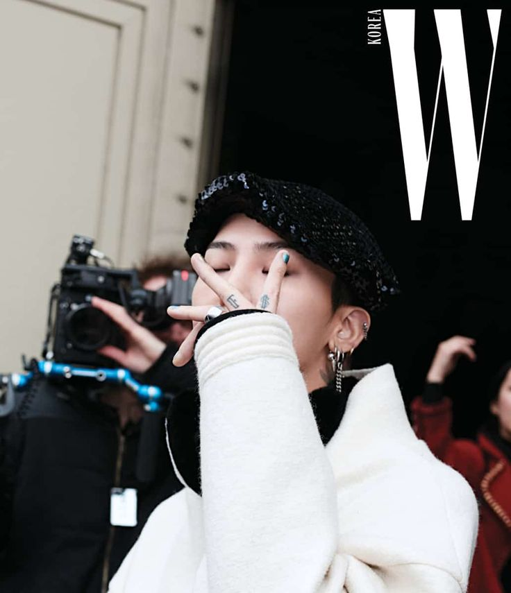 "G-Dragon for ""W Korea"" Magazine (February 2017) [PHOTO] - bigbangupdates"