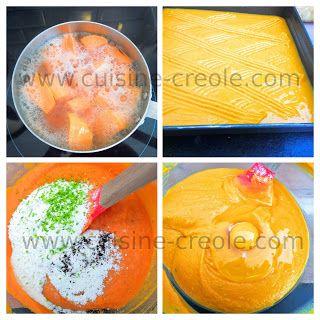 Je cuisine Créole : Gâteau fondant et léger à la patate douce