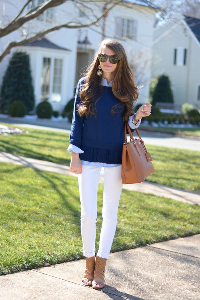 Essential Pieces For The Perfect Classic Preppy Fall Weekend Outfit
