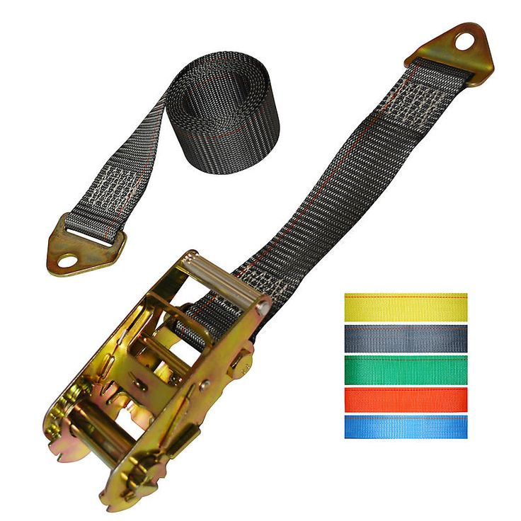 """2"""" Ratchet Strap with Floor Anchor Mounts"""