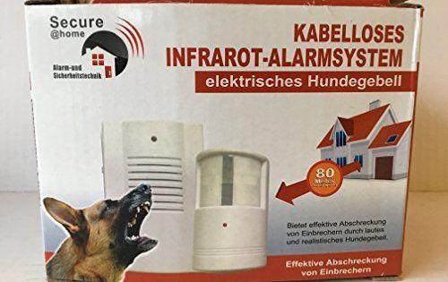 aboiement Système d'alarme sans fil infrarouge l'intrus électronique alarme chien de garde électronique: Chien de garde électronique pour…