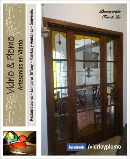 Vitral puerta living