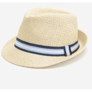 Chapeau paille enfant garçon. Le chapeau en paille pour une allure décontractée mais toujours stylée. Galon bleu...www.shopwiki.fr ! #chapeau #accessoire_enfant