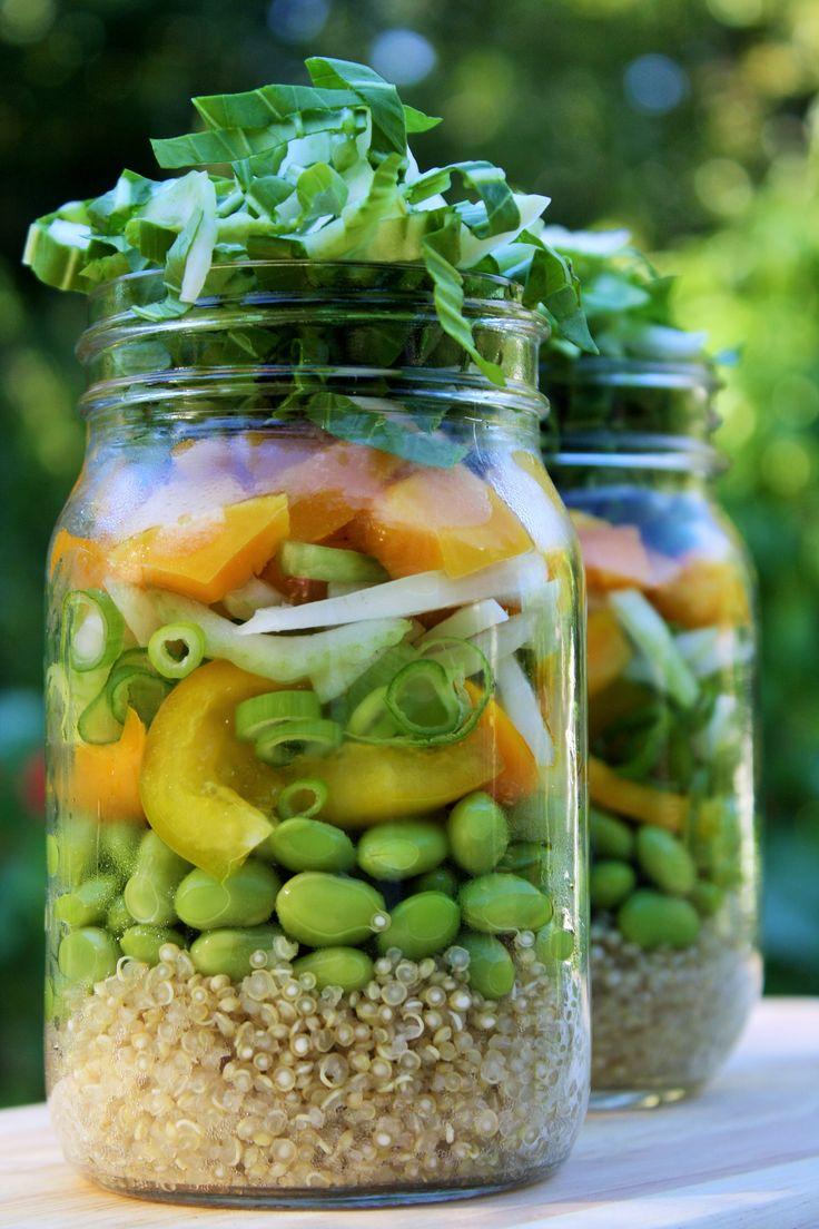 Recettes santé | Nutrisimple | Salade de bok choy et edamame asiatique