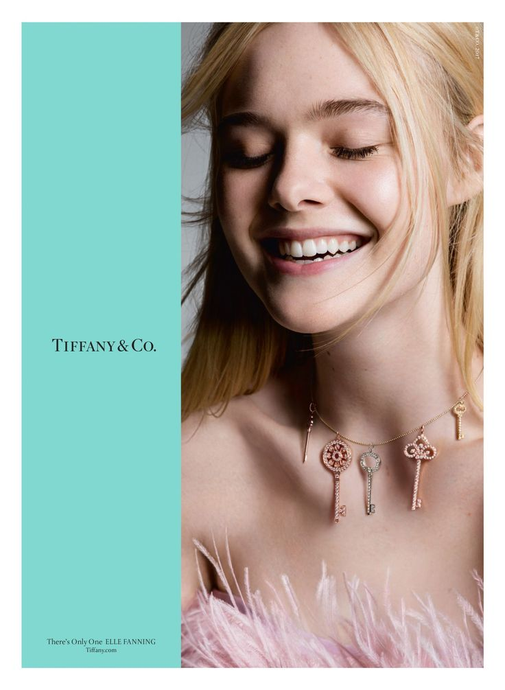 Elle Fanning Is One of the New Faces of Tiffany & Co ...