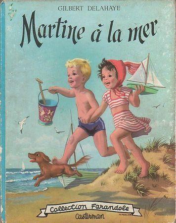Couverture album Martine 1954