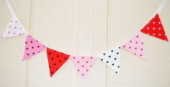 Fiesta mini banner Party 7 flags Garland 26 by IzabelleCollections, $10.00