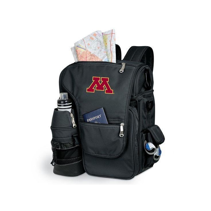 Minnesota Golden Gophers Insulated Backpack, Black