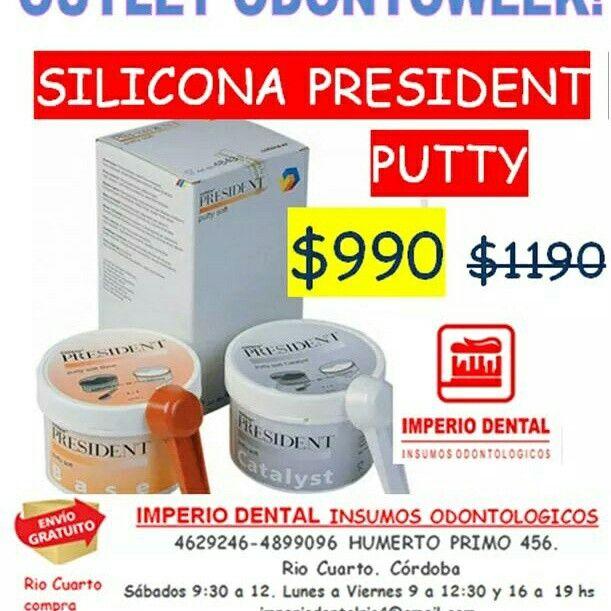Silicona president oferta