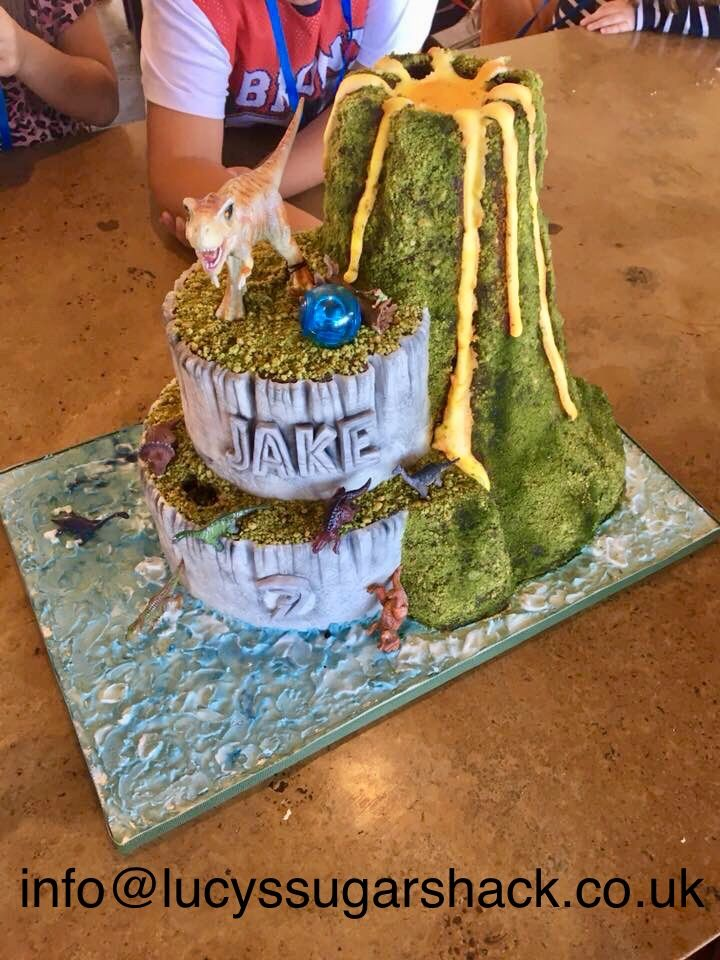 The Awesome Jurassic World Fallen Kingdom Birthday Cake Contact