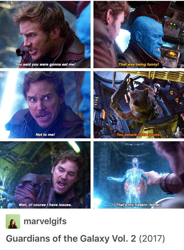Peter Quill is iconic