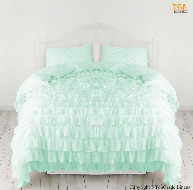 new waterfall ruffle duvet cover with pillow sham 100 cotton all size u0026 color