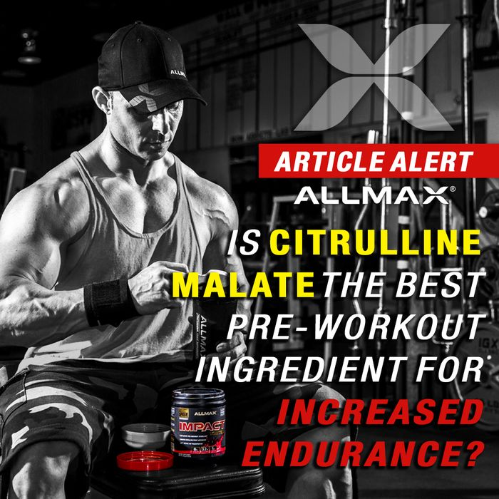 Article Alert! #IMPACTIgniter  With its long list of performance benefits, #CitrullineMalate is the Pre-Workout intensifier for all athletes, especially with repeated bouts of heavy lifting. Citrulline Malate 2:1 has proven to be so effective that it has become an essential, alongside ingredients like Agmatine and Beta-Alanine for top Pre-Workout formulas.  #ALLMAX #preworkout