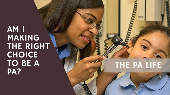 Are you making the right career choice to become a physician assistant? In this post I answer the age old questions from a reader who is trying to decide between PA vs. MD.
