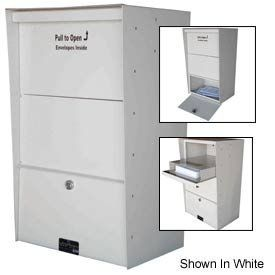 Wall Mount X-Large Aluminum Letter Locker Mailbox Bronze by JAYCO INDUSTRIES. $425.00. WALL MOUNT LETTER LOCKERS Aluminum X-Large Vertical Drop Box Great for after hour drop box applications. These versatile letter boxes can be mounted directly to a wall or used with a rural post (sold separately). Wall mount letter lockers are made using lightweight, rust resistant aluminum with one-piece framing for maximum strength. Vertical drop boxes feature a 5H x 14W incomin...