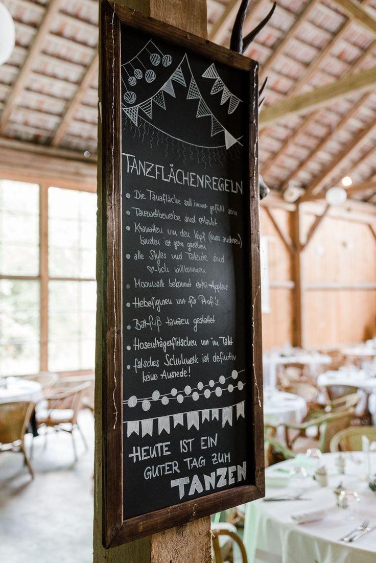 Tanzflächenregeln für die Hochzeitsparty – ganz nach meinem Geschmack :) l #ho…