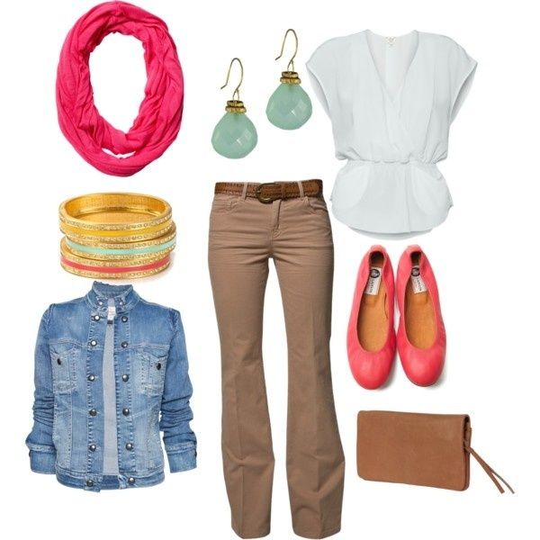 spring..I like the colors: Girls, Spring Colors, Casual, Spring My Style Pinboard, Comfy Style, Spring Outfit
