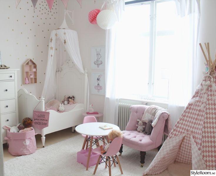 barnrum,romantiskt,barnstol,barnmöbler,förvaring