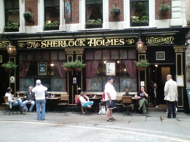The Sherlock Homes London UK: Holmes Cafe, Homes London, Bucket List, Favorite Places, London Uk, Sherlock Holmes, Cafe Cozyplace