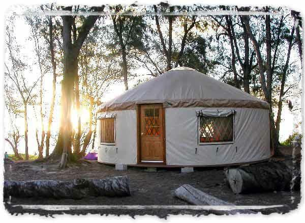 If you are dreaming of simpler or off-the-grid living, a Yurt is a fantastic option. There are several companies making inexpensive Yurt kits that provide a very affordable all-season home, studio, or country home. If you can find a cheap piece of land a yurt is an excellent choice for your own off-the-grid dwelling, the kits can even provide a home as large as 5000 sq. ft. or more.
