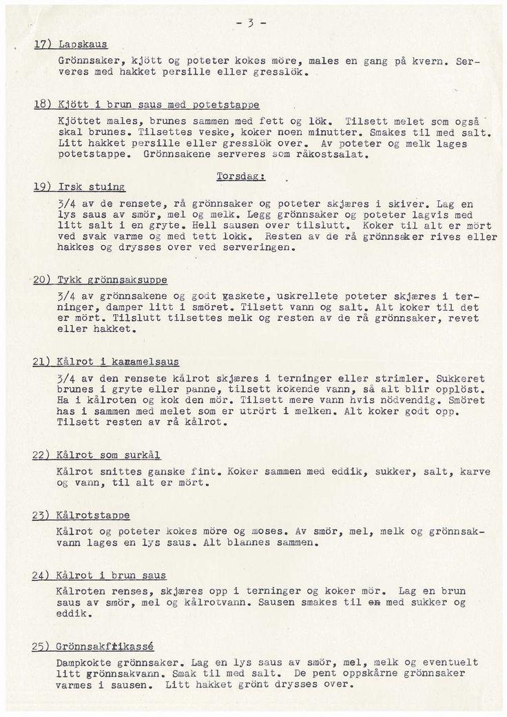 Dagliglivets utfordringer Allerede i april 1940 var det mangel på viktige forbruksvarer i Norge. Nesten alle varer ble rasjonert de neste fem årene. Forbrukerne ble tildelt rasjoneringskort, men de tilmålte kvotene var langt fra tilstrekkelige. Kålrot i karamellsaus og andre oppskrifter.