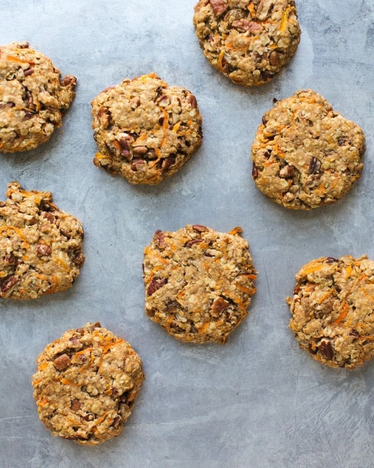Carrot Cake Breakfast Cookies A Couple Cooks Recipe Breakfast Cookies Healthy Cookie Recipes Real Food Recipes