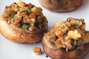 stuffed mushrooms using stove top stuffing mix