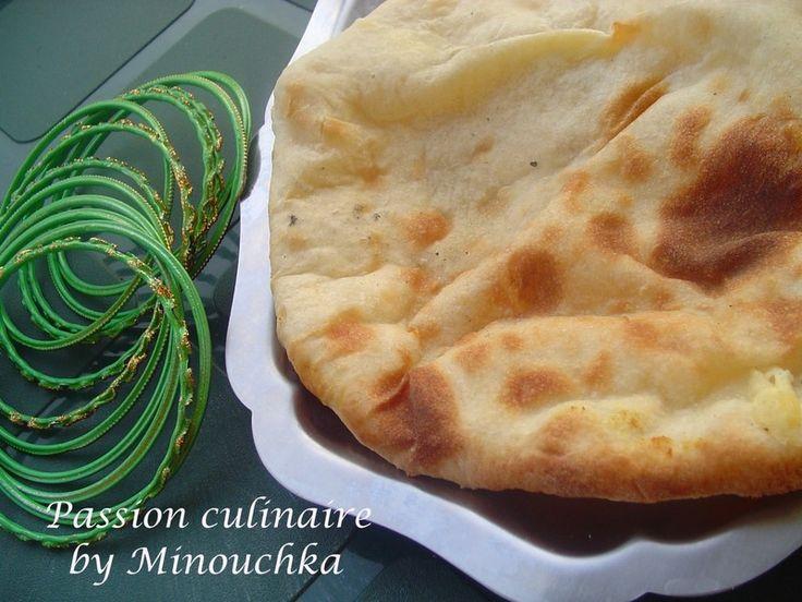 nan (naan) au fromage, recette indienne (pain) avec tutoriel images et astuces