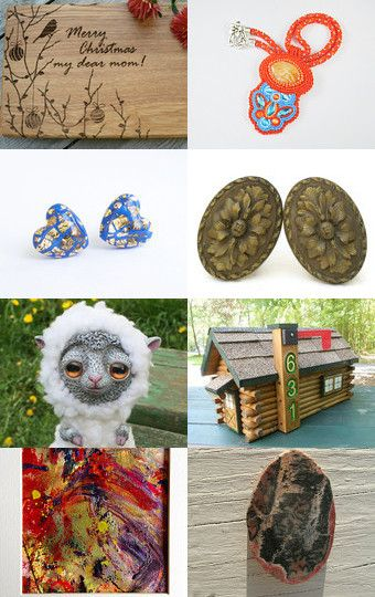 My sheep was added to *29 by Ludmila on Etsy