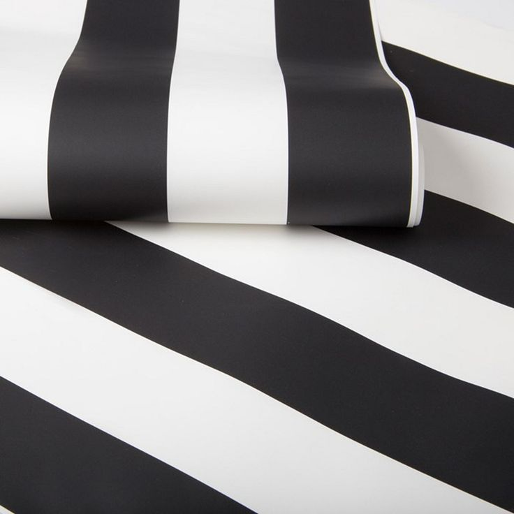 Fitting perfectly into the much loved monochrome trend this black and white stripe wallpaper is a sleek and stylish way to decorate your walls perfect for all the family. The paper is paste the wall meaning it is a doddle to apply and even easier to take down as and when your child grows.
