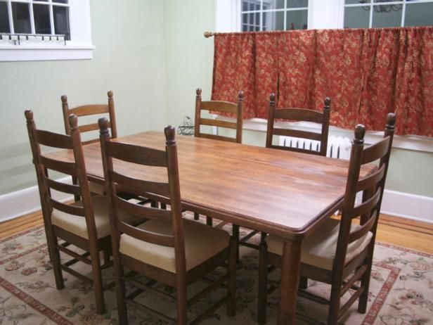 how to refinish a dining room table stains homemade and