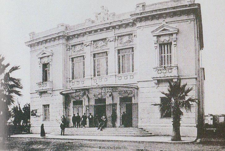 1905 VENTIMIGLIA (IM) TEATRO COMUNALE di VENTIMILA (foto d'epoca) by ANTONIO CAPPONI, FRANCESCO SAPPIA