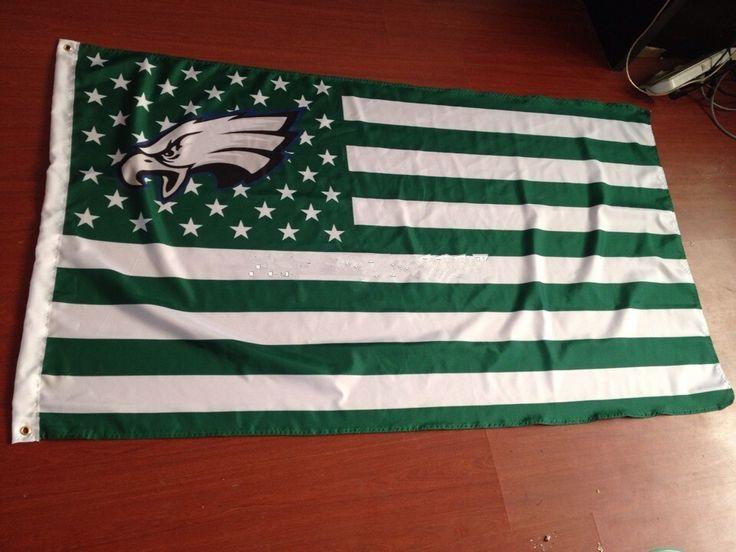 3ft x5ft flag NFL Philadelphia Eagles flag polyester Hand flag