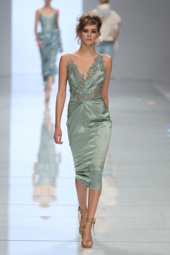 I need a place to wear this: Summer 2012, 2012 Ready To Wear, Spring Summer, Milan Fashion Week, Scervino Spring, Mint Dresses, Ermanno Scervino, Spring 2012, Ermannoscervino