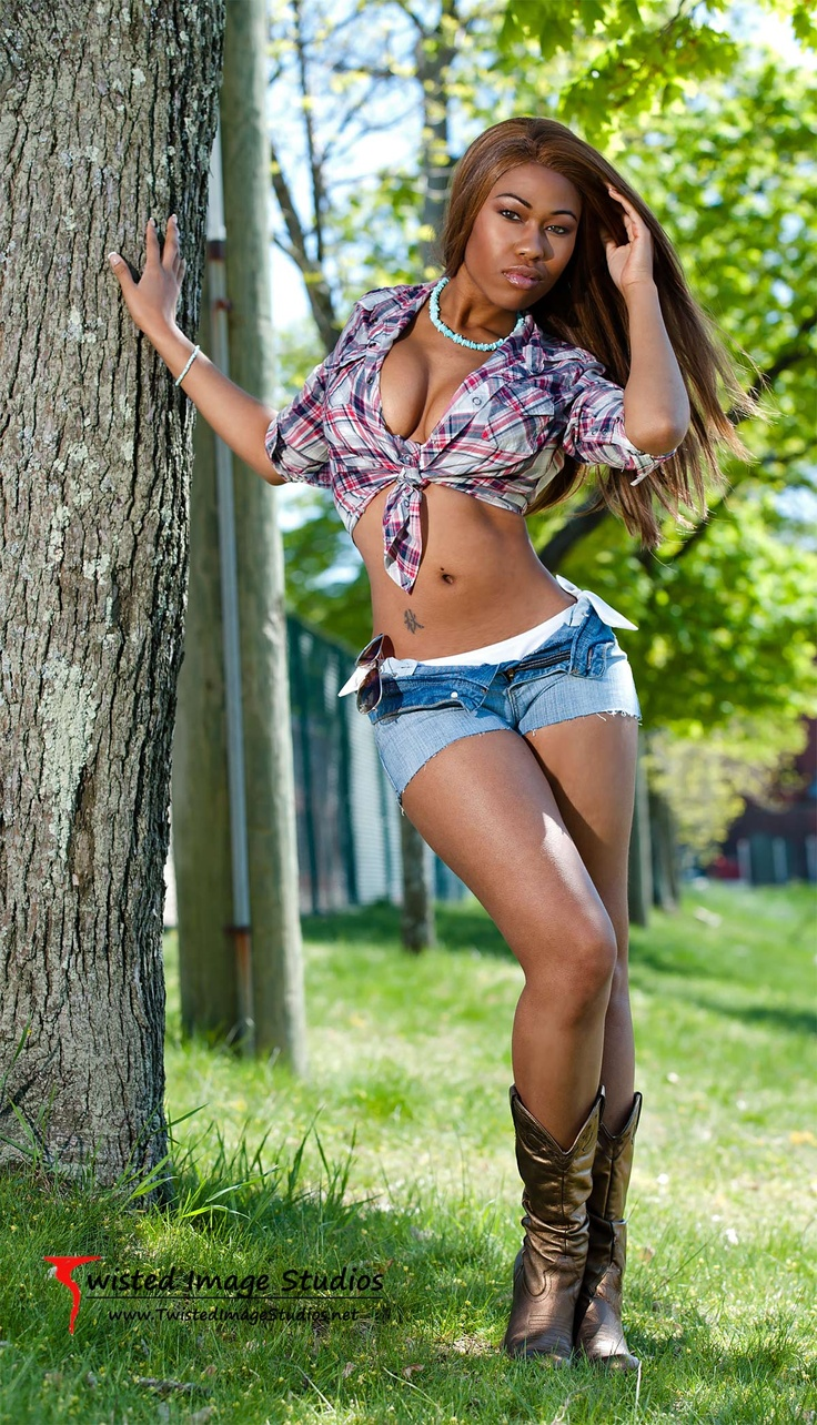 Autumn   Young gifted, black, Cowboy hats, Daisy dukes
