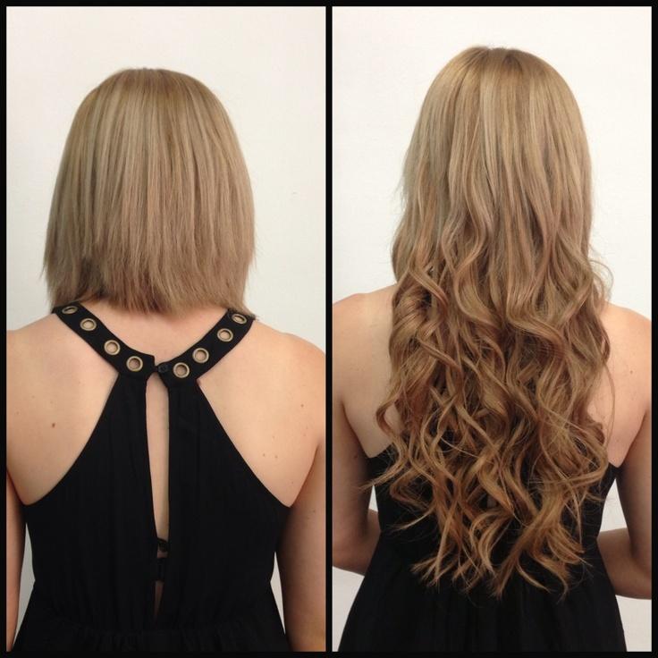 Bead Hair Extensions ideas on Pinterest - Micro loop hair extensions ...