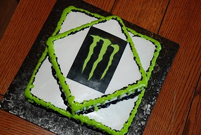 Zoey's Delights: Monster Energy Drink Cake