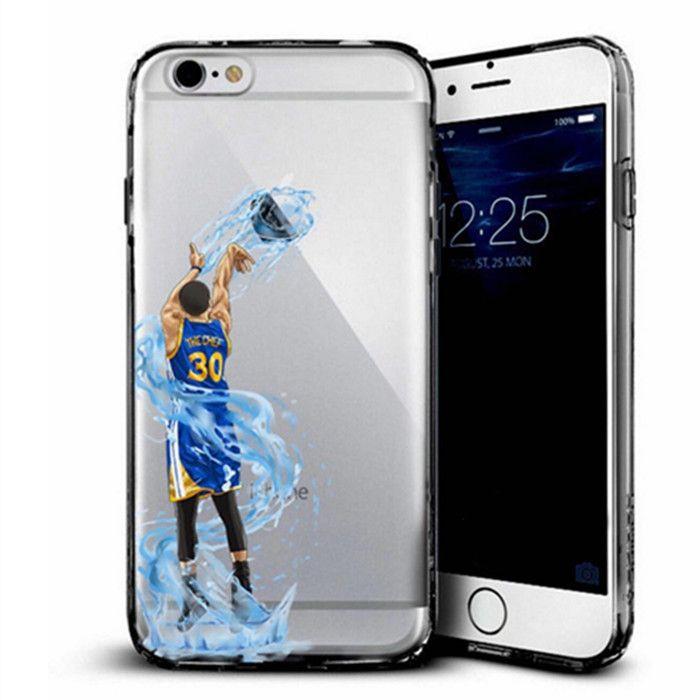 NBA basketball star phone case for iphone 5 5s 5se 6 7 plus hard shell Lebron james harden Jordan Stephen Curry Kobe Coque cover