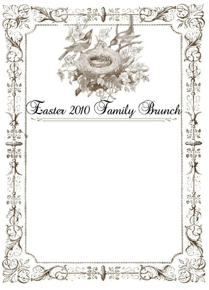 printable easter menu template jpg 739 1023. Black Bedroom Furniture Sets. Home Design Ideas